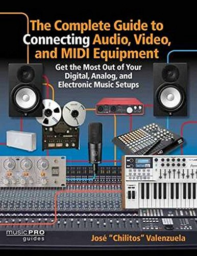 The Complete Guide to Connecting Audio, Video, and MIDI Equipment: Get the Most Out of Your Digital, Analog, and Electronic Music Setups English Edition (Music Pro Guides) by Hal Leonard