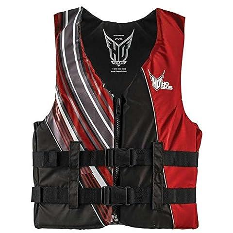 HO Sports Infinite Life Vest - Men's Black/Red 4X-Large (Life Vests 5x)