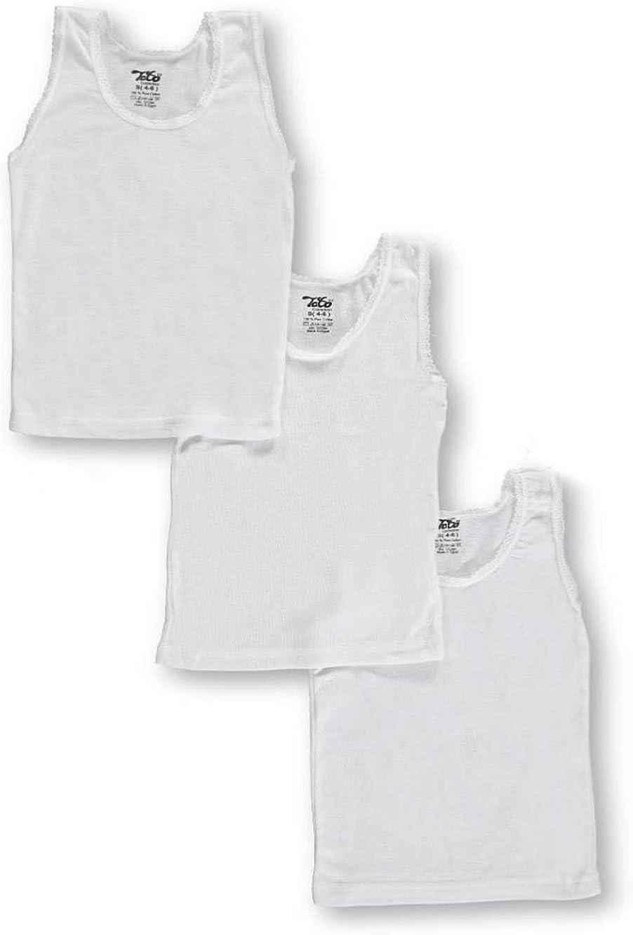 TATO Little Girls 3-Pack Camisoles