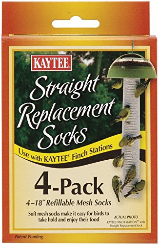 Kaytee Straight Finch Station Replacement Socks by Kaytee Products Inc.