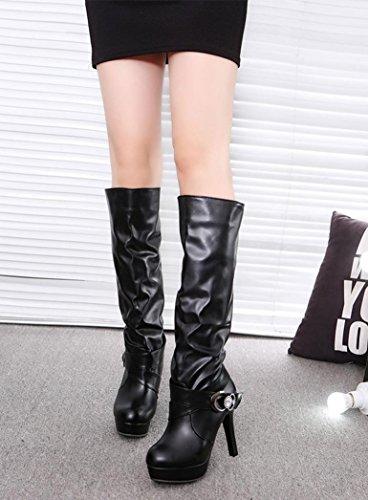 Lacets Ville 11516 Chaussures MML pour Femme de Noir à MML xRYgqInx
