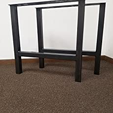 Economy Style   Heavy Duty H Frame Metal Table Legs