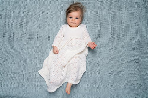 Baby girls white maxi dress by Marumakids