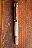 Over/Under Rollerball Bourbon Barrel Wood Pen with Gold Hardware offers