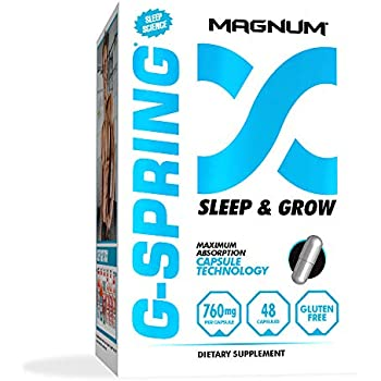 Amazon com: Magnum Nutraceuticals G-Spring Sleep & Grow - 96