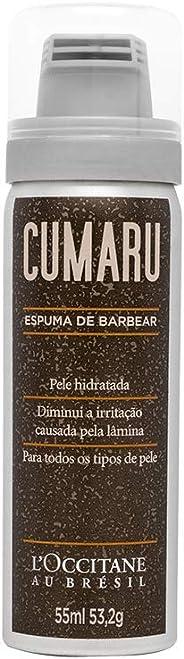 Espuma de Barbear Cumaru 55ml L'Occitane au Brésil 55ml