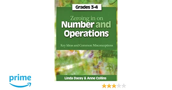 Amazon.com: Zeroing In on Number and Operations, Grades 3-4: Key ...