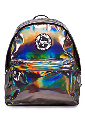HYPE Men's Floral Dream Logo Backpack, Pink HOLOGRAPHIC COFFEE