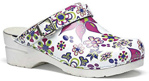 Toffeln Flexi Klog 0724 - Floral Floral HxCAcWRA