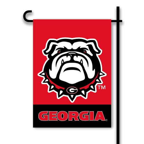 (BSI NCAA Georgia Bulldogs 2-Sided Garden Flag)