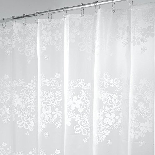80OFF MDesign Halo PEVA Shower Curtain Mold And Mildew Resistant Water Repellent
