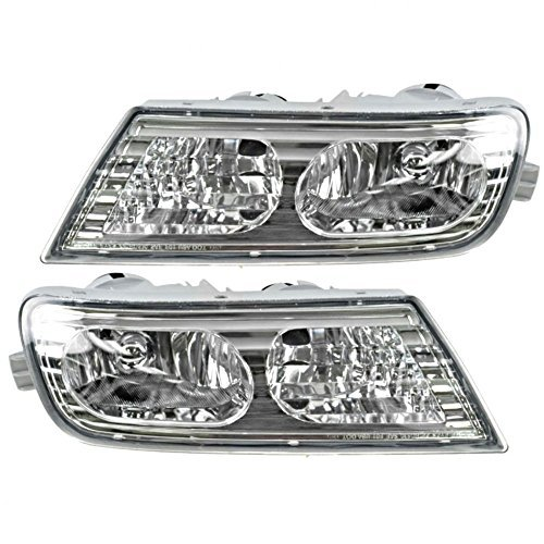 - Fits 07-09 Acura MDX Fog Light Assembly Pair, Driver and Passenger