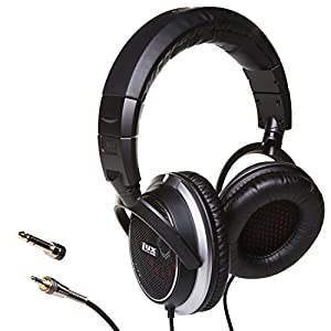 LyxPro OEH-10 Open Back Headphones Hi Fi Audiophile Over-Ear Comfortable Headphones, Interchangeable Cushioned foam…