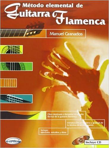 Método Elemental de Guitarra Flamenca: Amazon.es: Granados, Manuel ...