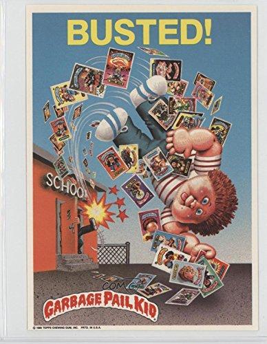 Garbage Pail Kids Poster (Busted! (Trading Card) 1986 Topps Garbage Pail Kids Jumbos - Posters #14)