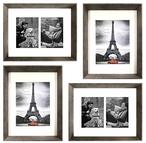 - Art Emotion Rustic Oak Style High Profile Picture Frame, Frame Height 1.75