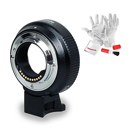 Commlite Upgraded Lens Mount Adapter with Electronic AF A...