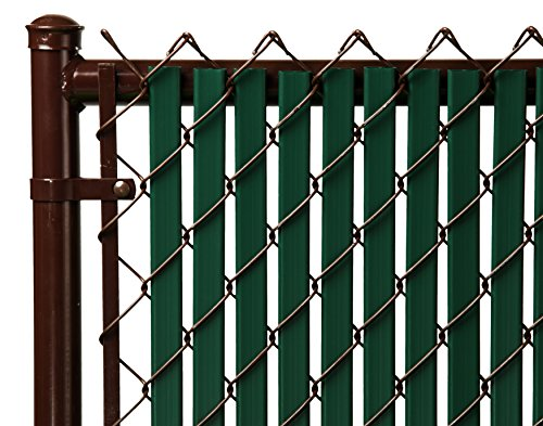 (4ft Green Tube Slats for Chain Link Fence)