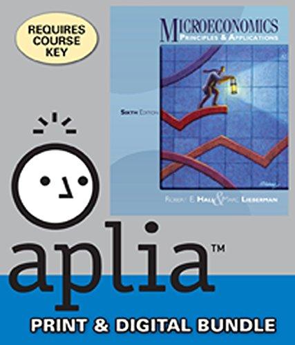 Bundle: Microeconomics: Principles and Applications, 6th + Aplia™, 1 term Access Code
