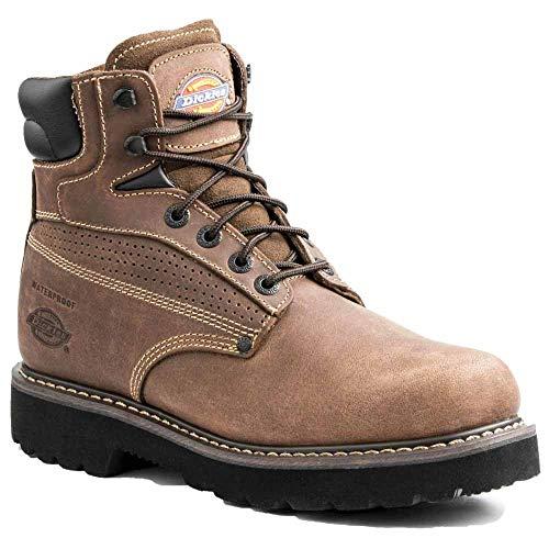 Dickies Men's Breaker Steel Toe-M, Brown, 7 EE ()
