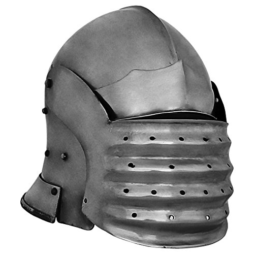 GDFB AB0343 14 Gauge Bellows Face Sallet Helmet -