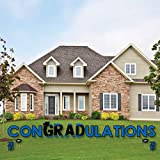 Blue Grad - Best is Yet to Come - Yard Sign Outdoor Lawn Decorations - Royal Blue 2019 Graduation Party Yard Signs - ConGRADulations