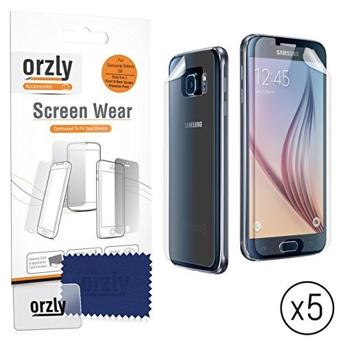 SAMSUNG GALAXY S6 Front & Back Screen Pr - Transparent Screen Protector Guard Shopping Results