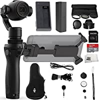 DJI OSMO+ Plus Handheld Fully Stabilized 4K Camera Beginners Bundle