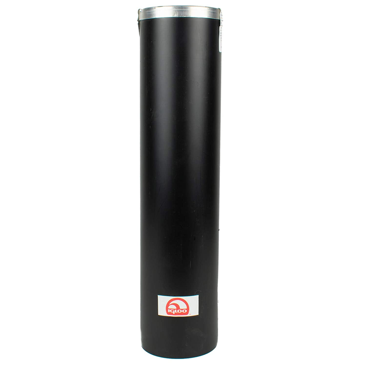 Igloo Cone Cup Dispenser, Fits 5 Gal Water Cooler, Black Plastic