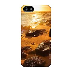 For Iphone 5/5s Fashion Design Summer Beautiful Sunset Case