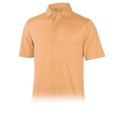 Monterey Club Mens Dry Swing Mini Diamond Emboss Shirt #1209