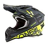 O'Neal Unisex-Adult 2SERIES Helmet (SPYDE) Black/Hi Viz X-Small