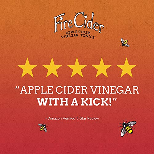 Fire-Cider-Apple-Cider-Vinegar-Tonic-with-Honey-Original-Flavor-Natural-Detox-Pure-Raw-Certified-Organic-Ingredients-Ideal-for-Cleansing-Diet-No-Heat-Processed-128-Shots-64-oz