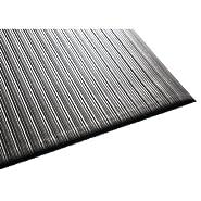 Air Step Antifatigue Mat, Polypropylene, 36 x 60, Black, Sold as 1 Each