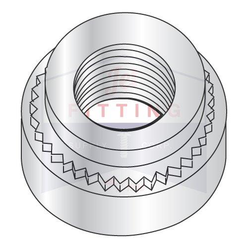 Minimum Sheet Thickness M3.5-0.6-2 Self Clinching Nuts//Steel//Zinc//Shank Height 1.38 mm 1.4 mm Quantity: 7,000 pcs
