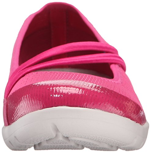 Rockport Donna Truwalk Zero Moreza Mary Jane Flat Deep Fuchsia Lavabile