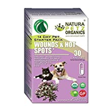 Natura Petz Organics Wounds & Hot Spots Starter Pack for Dogs