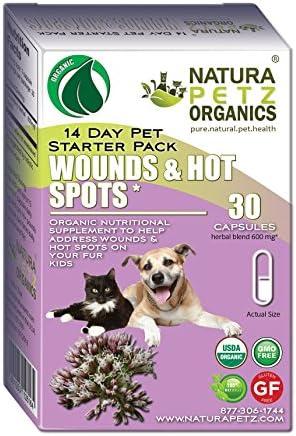Natura Petz Organics Wound and Hot Spot Starter Pack