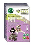 Natura Petz Organics  Wound and Hot Spot Starter Pack for Dogs and Cats
