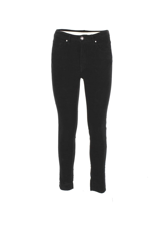 0/ZERO CONSTRUCTION Pantalone Donna 29 Nero Doroty/s 2496 Autunno Inverno 2018/19