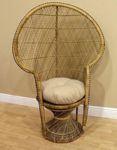 Hospitality Rattan Peacock Chair Buri - Natural by Hospit...