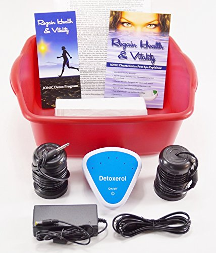 Ionic cleanse Detox Ionic Foot Bath Spa Chi Cleanse Unit for Home Use. Foot Spa Affordable Detox Foot Spa Machine with Free Booklet and Brochure, Regain Health & Vitality by Better Health Company
