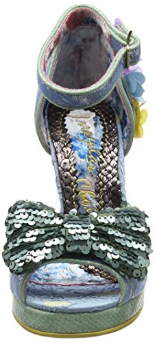 Mujer Pale Blue Azul Irregular Spring A para Pulsera con Sandalia Choice Forward 1av1H0q