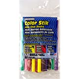 "Surebonder CO-12V Mini All Temperature Colored Glue Stik-12 glue sticks-4"" length  5/16"" diameter"