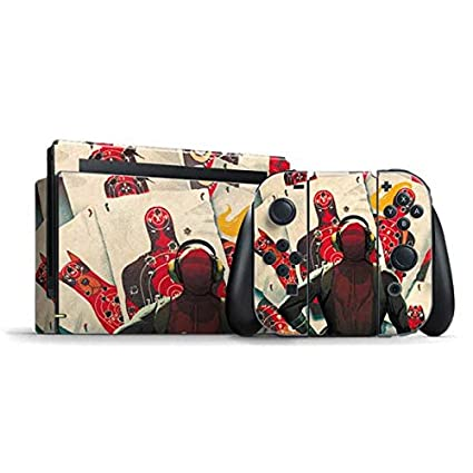 Amazon com: Deadpool Nintendo Switch Bundle Skin - Deadpool