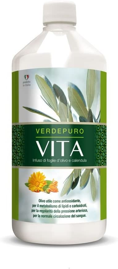 MyVitaly VITA – Olive Leaf Extract Super Strength – 20 Oleuropein – Immune Support, Cardiovascular Health Antioxidant Supplement 1 X 1000ml