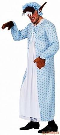 Disfraz Abuela-lobo de caperucita Talla L: Amazon.es: Ropa y ...