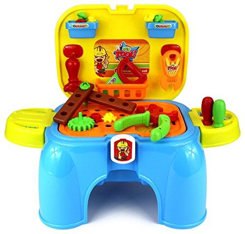 UPC 637801786415, Velocity Toys My 1st Handy Man Children's Kid's Pretend Play Toy Work Shop Tool Set w/ Tools, Accessories