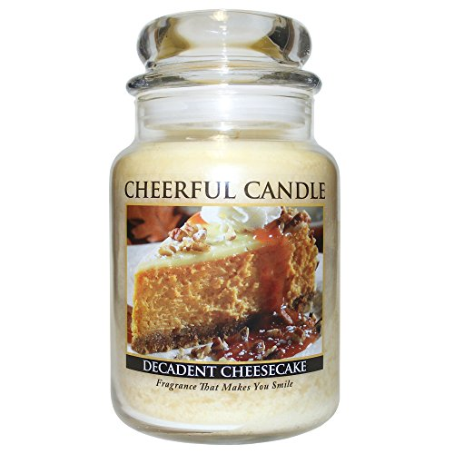 (A Cheerful Giver A Decadent Cheesecake Jar Candle 24oz)