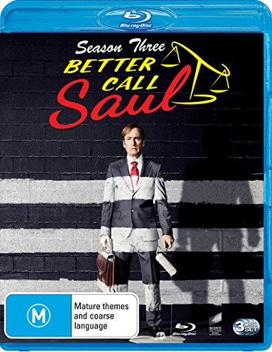 Better Call Saul: Season 3 | NON-USA Format | Region B Import - Australia -  Blu-ray
